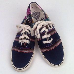 Free People Mipacha handmade Peruvian sneakers